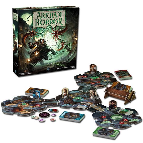 arkham horror mejores juegos de mesa cooperativos