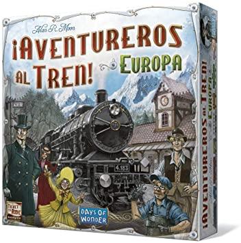 aventureros al tren mejores juegos de mesa cooperativos