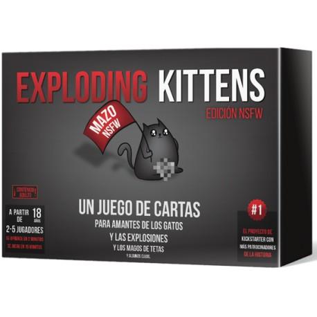 exploding kittens mejores juegos de mesa para adultos
