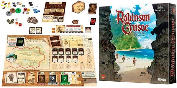 robinson crusoe mejores juegos de mesa cooperativos